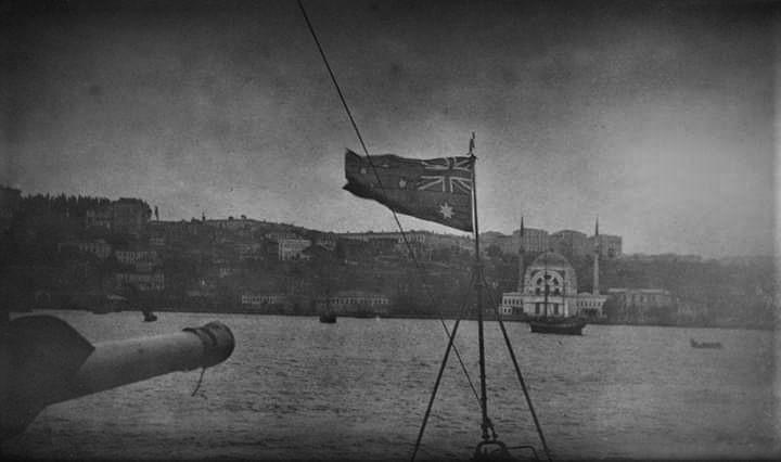 Konstantinopel, das heutige Istanbul, befand sich zwischen 1918 und 1923 unter alliierter Besatzung.
